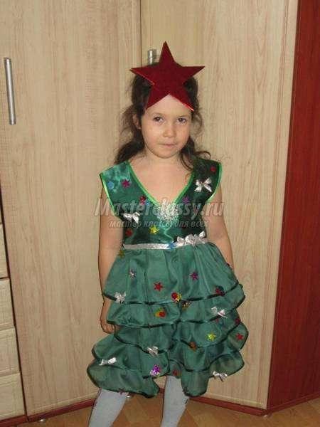 d457757b3d4 Как сшить детский карнавальный костюм Ёлочки  мастер-класс плюс 35 фото